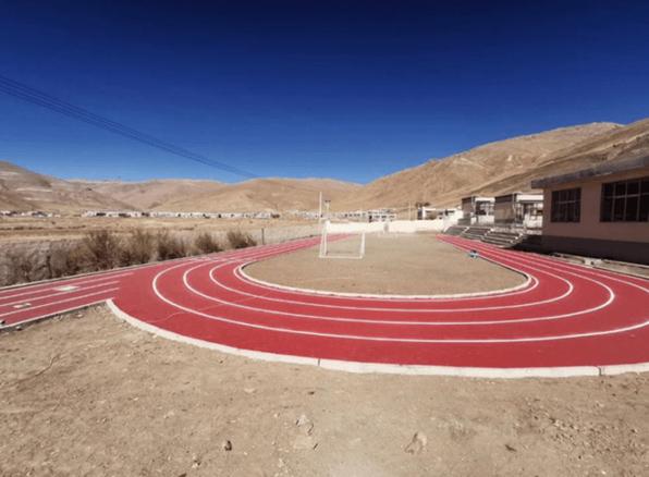 Disen Running Track in low temperature construction